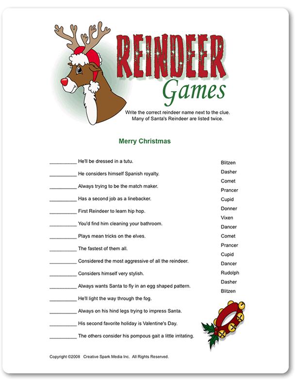Christmas activity ideas