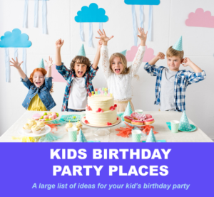 birthday party places