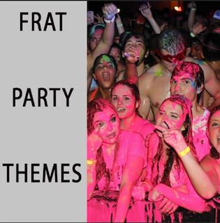 Frat Party Themes