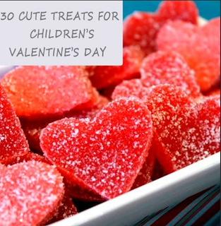 30 Cute Children's Valentine's Day Food Ideas.
