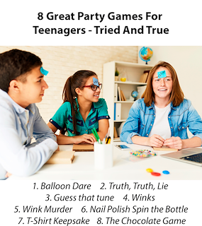 8 Great Party Games for Teenagers – Tried and true