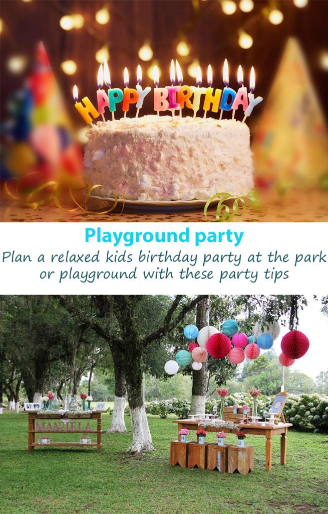 playground birthday party